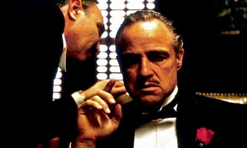 """Bonasera, Bonasera, ¿Qué he hecho para que me trates con tan poco respeto?"""