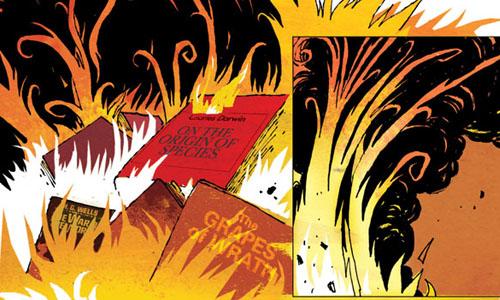 La temperatura a la que arden los libros