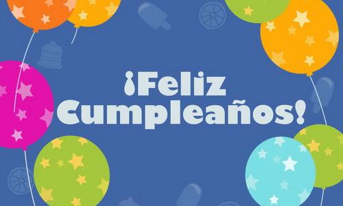 En mi cumpleaños, gracias